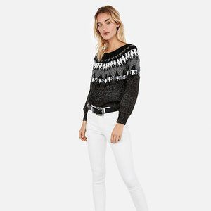 NWT EXPRESS Aztec Pullover Sweater